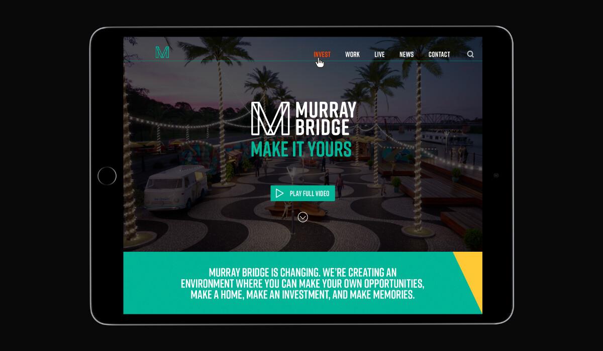web design by algo mas for murray bridge