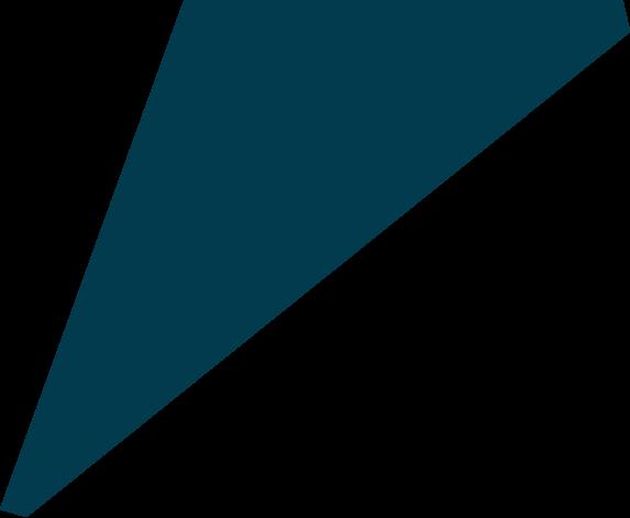 animated blue triangle