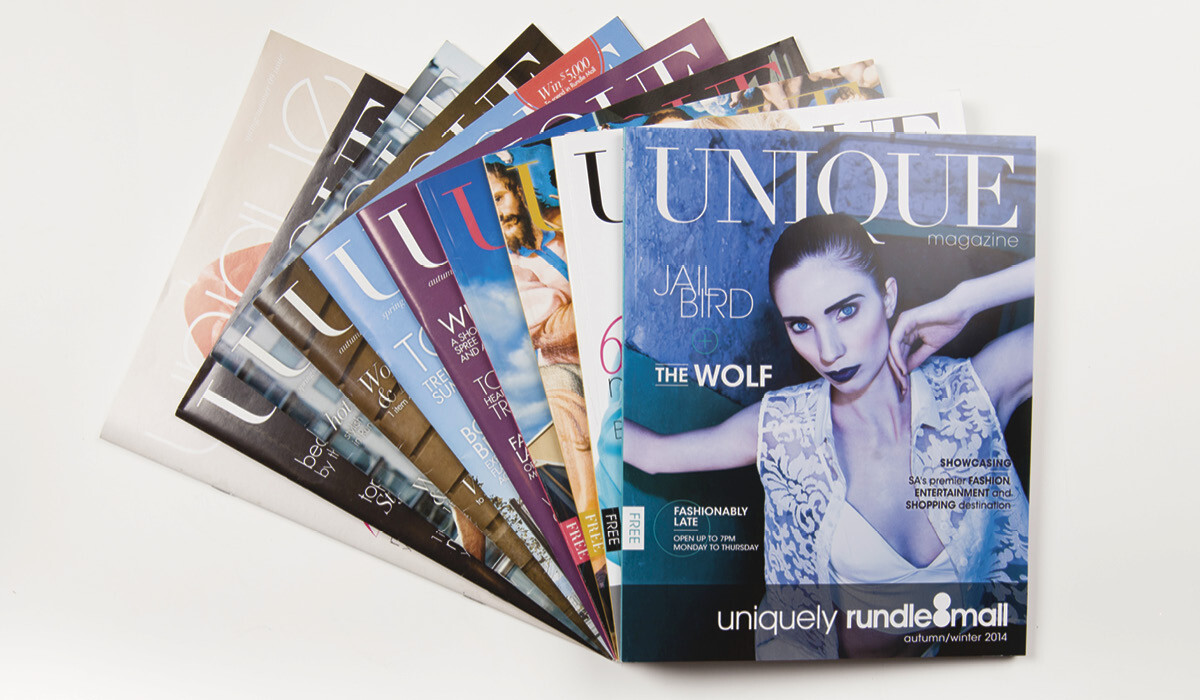 rundle mall magazine design