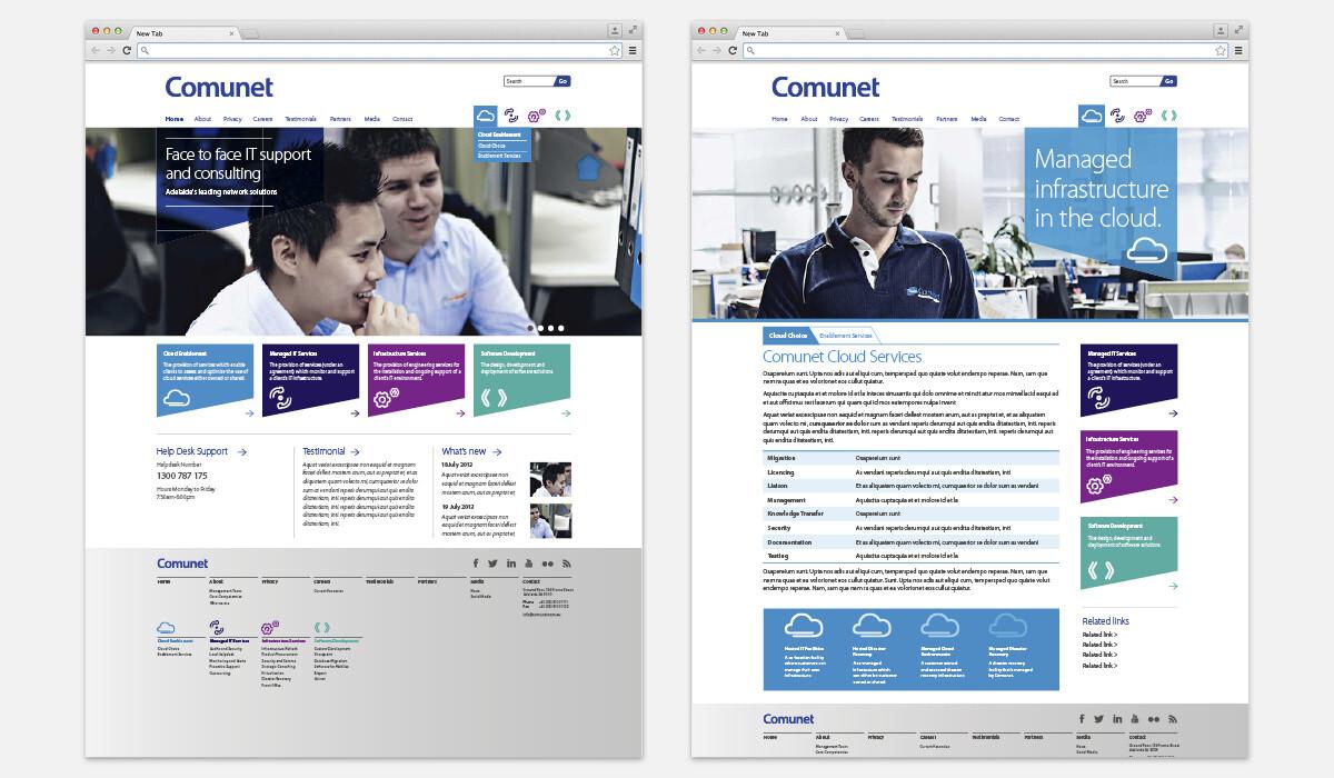 comunet web design