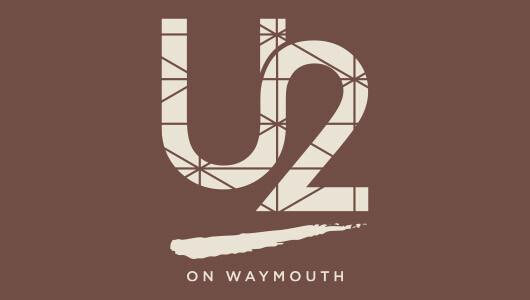 u2 on waymouth logo