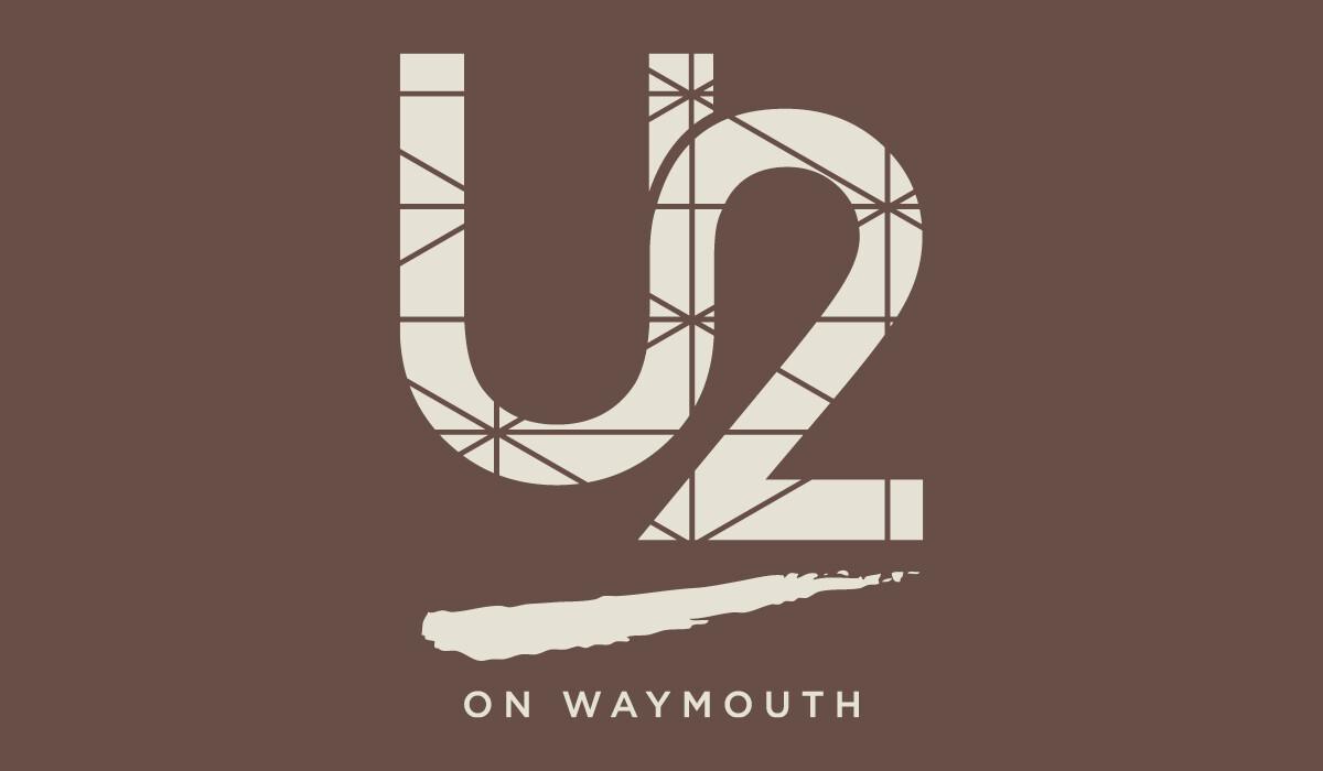 u2 on waymouth branding by algo mas