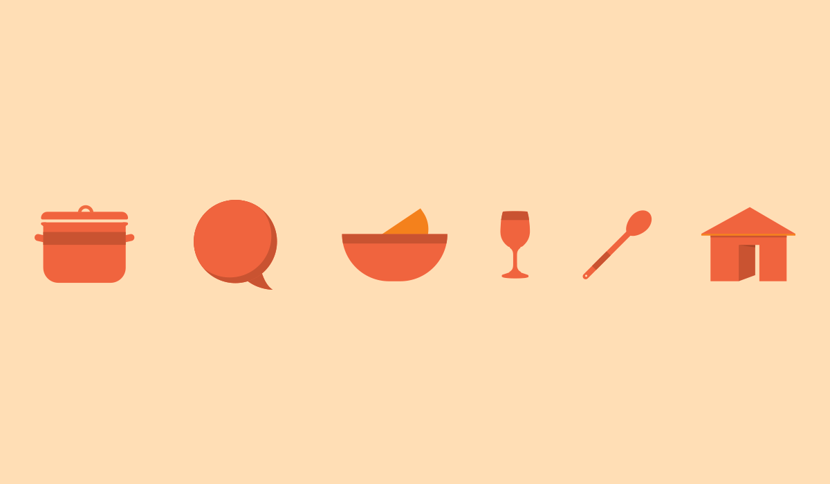 test kitchen branding by algo mas
