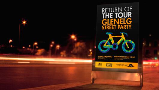 glenelg street party branding