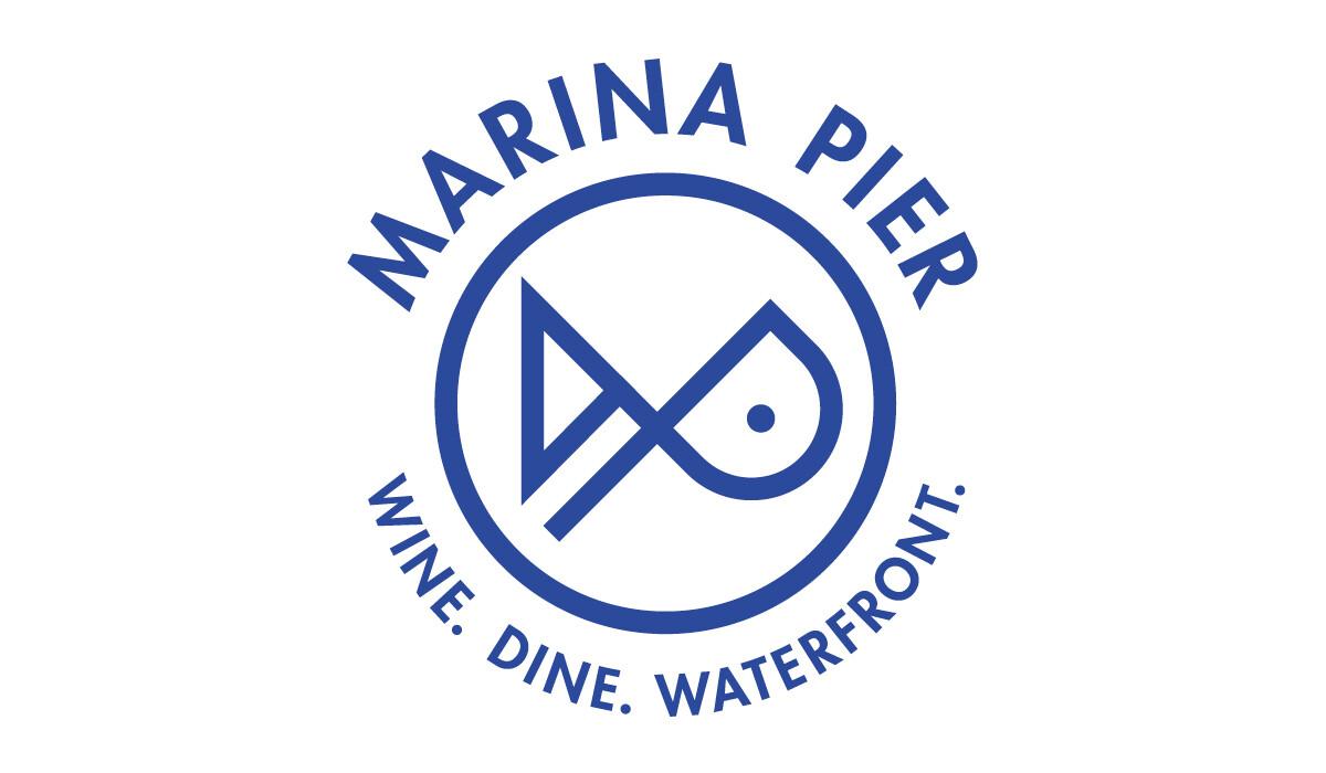 marina pier logo