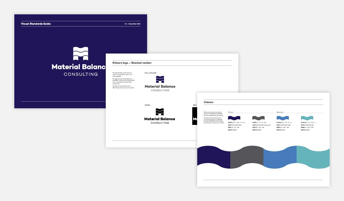 material balance branding by algo mas