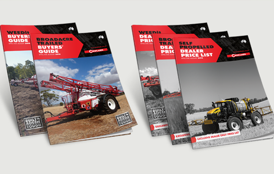 croplands dealer guide designed by adelaide branding algo mas