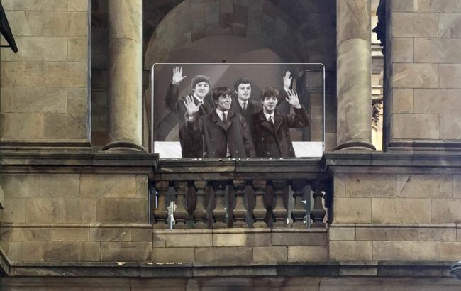 the beatles signage in adelaide