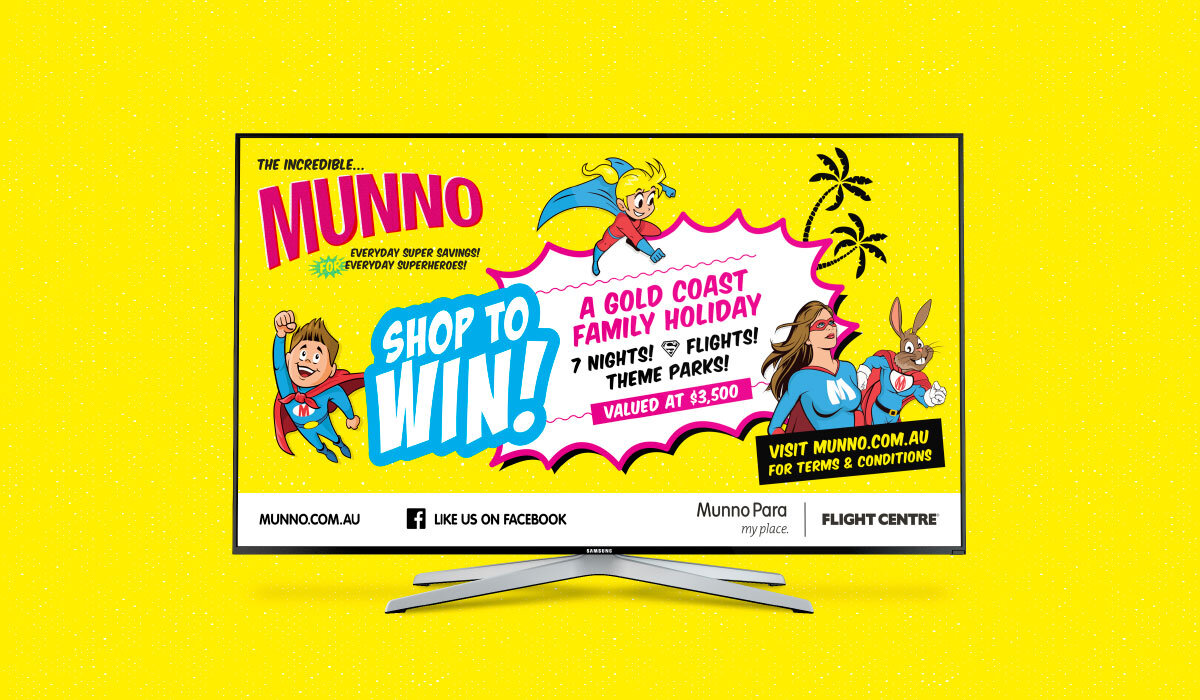 munno para shopping city banner