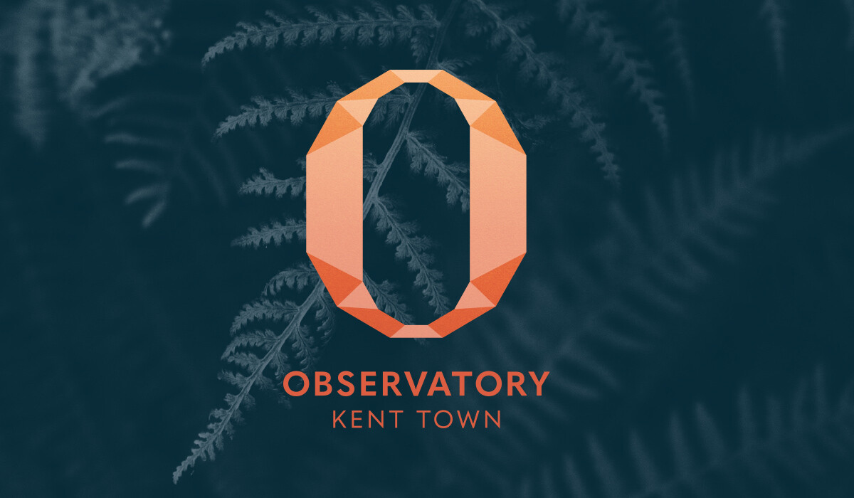 observatory logo design by algo mas