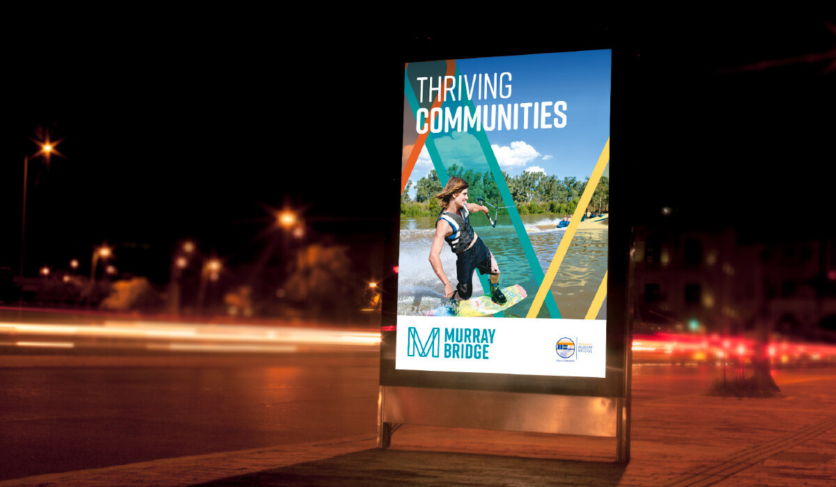 murray bridge branding by algo mas