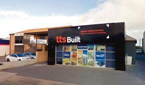 TTS Built signage