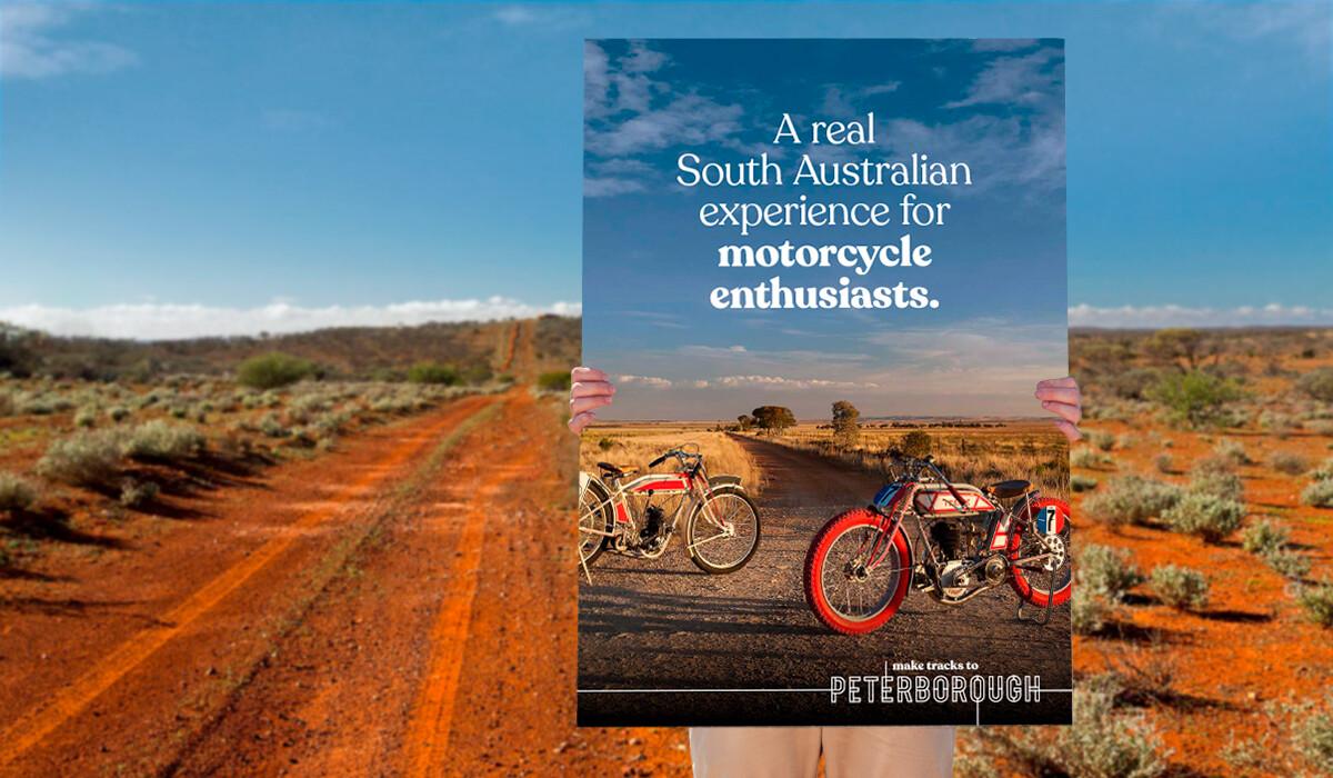 peterborough poster graphic design