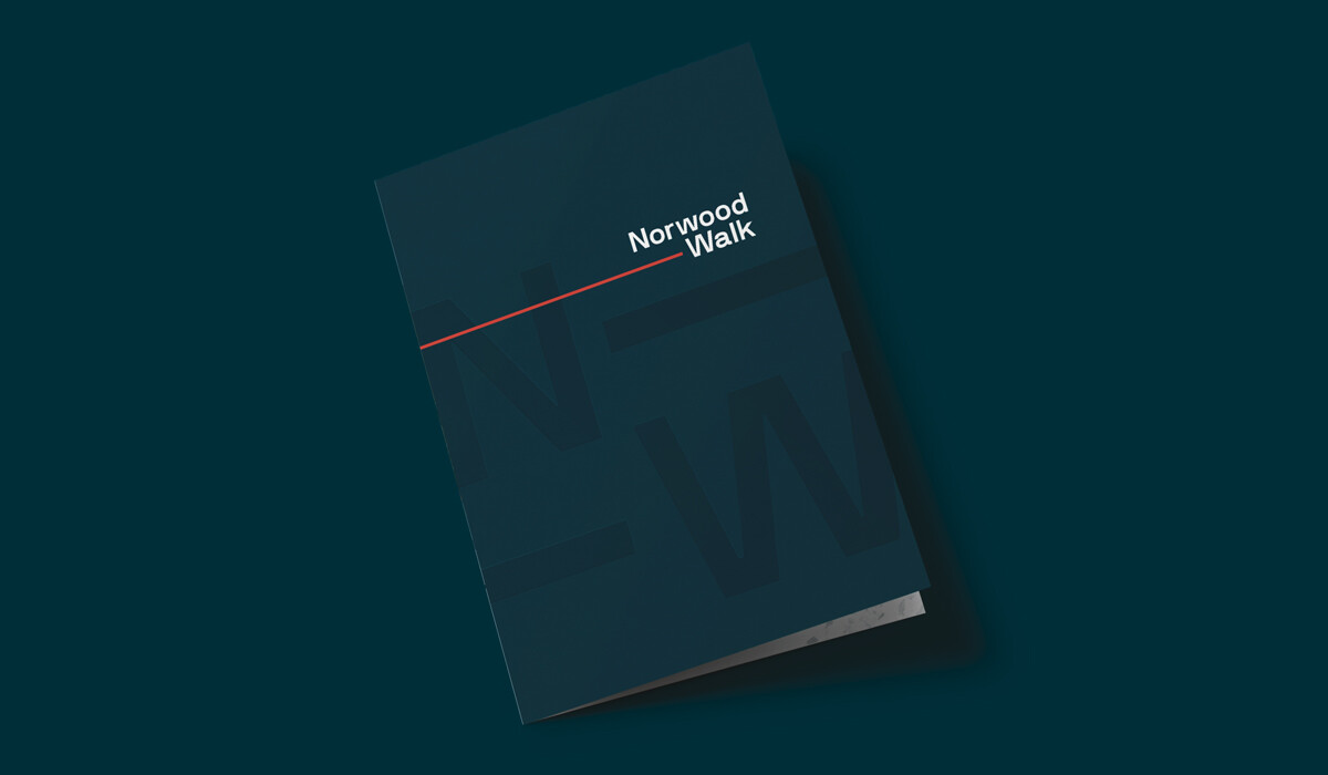 norwood walk branding