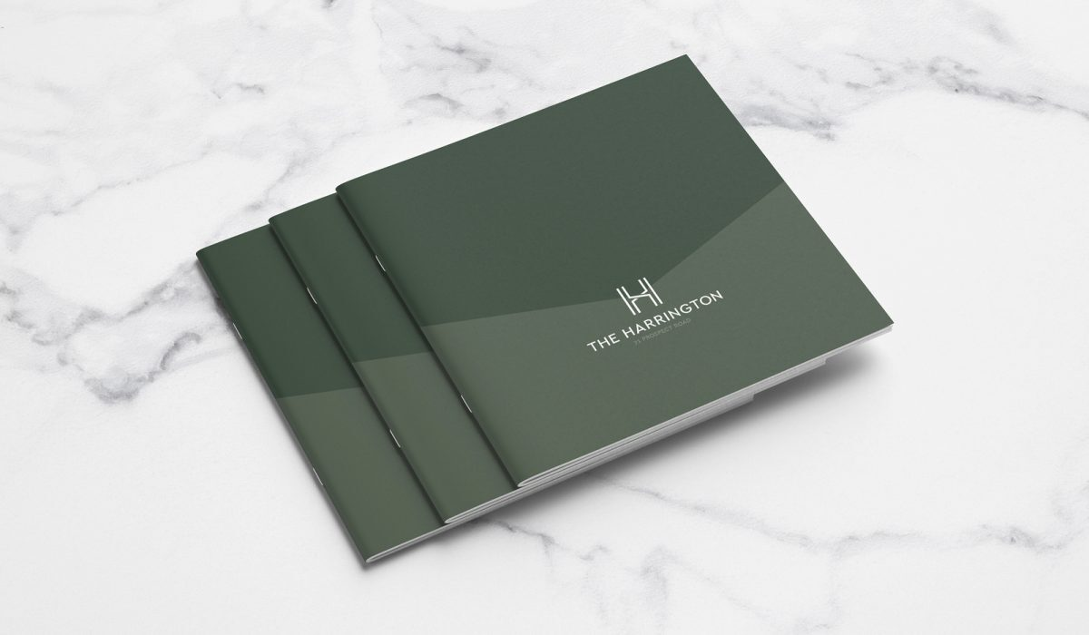 Adelaide Property Branding The Harrington Brochure