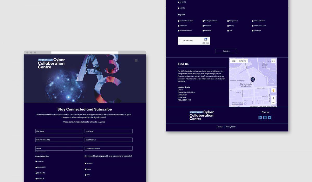 adelaide website design a3c