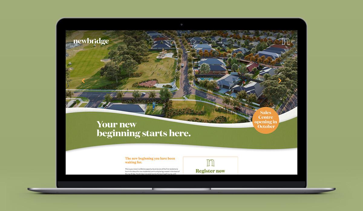 Adelaide Property Branding Newbridge Website