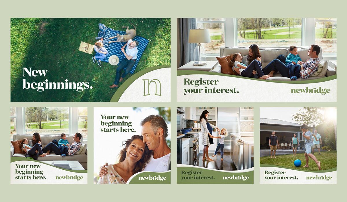 Adelaide Property Branding Newbridge Collateral