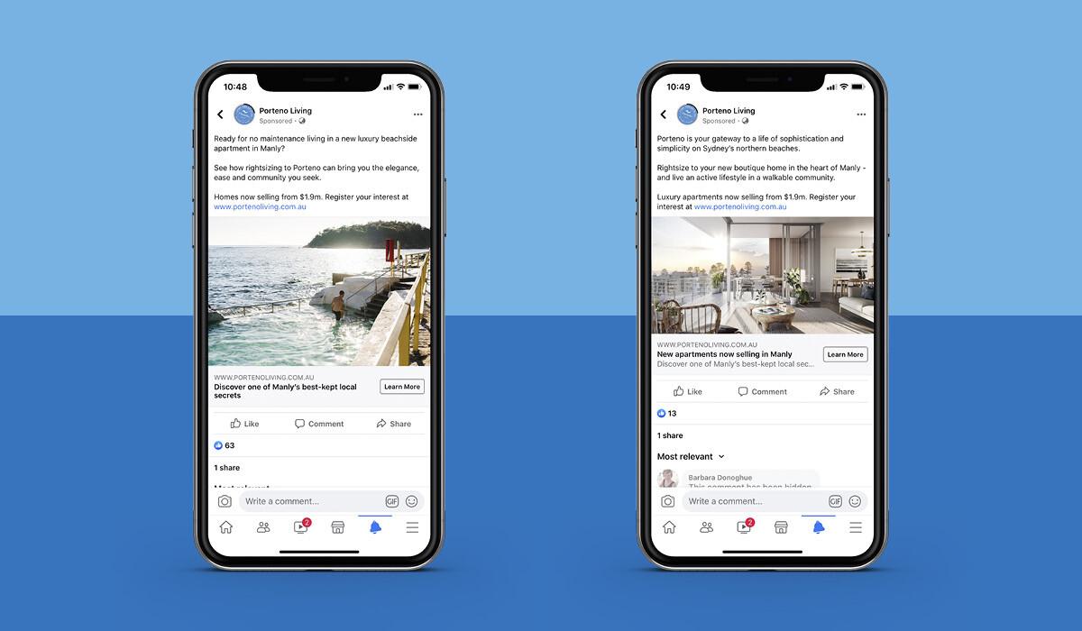 Adelaide Real Estate Social Media Campaign